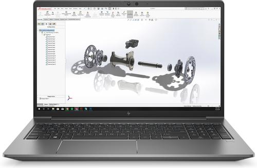 "HP ZBook G7 Mobile workstation Silver 39.6 cm (15.6"") 1920 x 1080 pixels 10th gen Intel® Core™ i7 16 GB DDR4-SDRAM 512 GB SSD N"