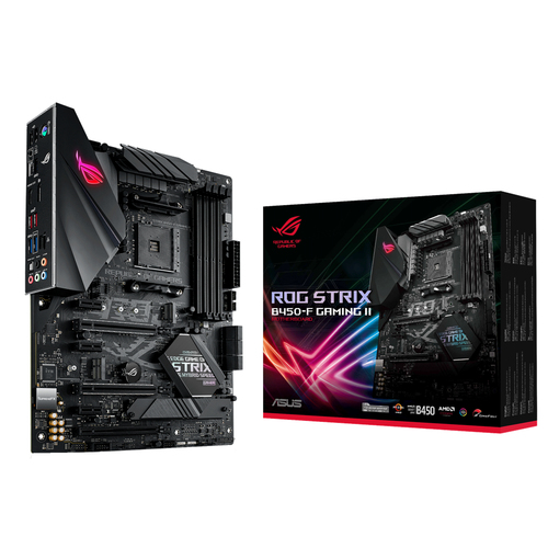 ASUS ROG STRIX B450-F GAMING II Socket AM4 ATX AMD B450