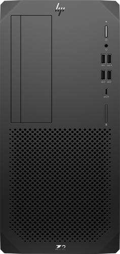HP Z2 Tower G5 DDR4-SDRAM W-1250 Intel® Xeon® W 16 GB 512 GB SSD Windows 10 Pro for Workstations Workstation Zwart