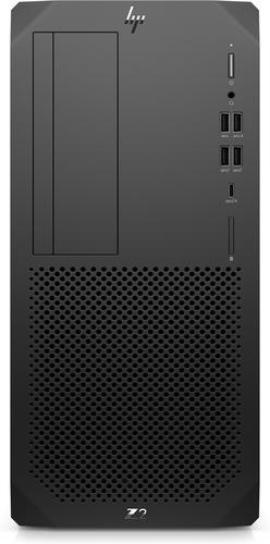 HP Z2 Tower G5 DDR4-SDRAM i7-10700K Intel® 10de generatie Core™ i7 32 GB 1000 GB SSD Windows 10 Pro Workstation Zwart