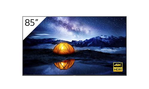 "Sony FW-85BZ40H + TEOS Manage Digitale signage flatscreen 2,16 m (85"") LCD 4K Ultra HD Zwart Android 9.0"