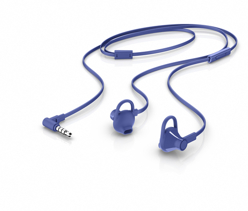 HP 150 Headset In-ear 3,5mm-connector Blauw