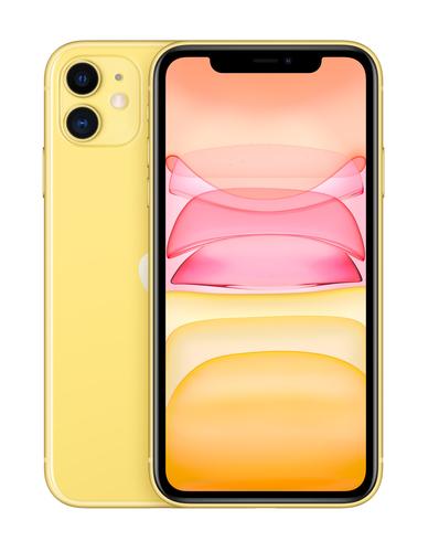"Apple iPhone 11 15,5 cm (6.1"") Dual SIM iOS 14 4G 128 GB Geel"