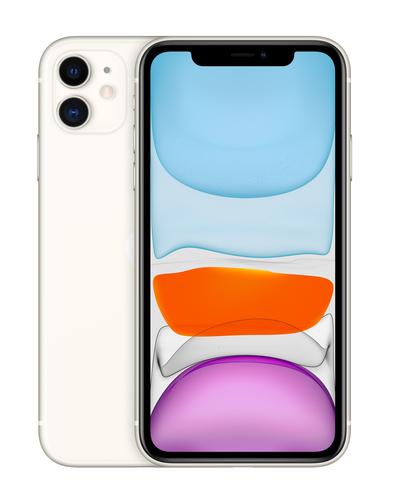 """Apple iPhone 11 15,5 cm (6.1"""") 256 GB Dual SIM 4G Wit iOS 14"""