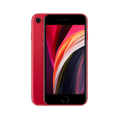 "Apple iPhone SE 11,9 cm (4.7"") Hybride Dual SIM iOS 14 4G 64 GB Rood"