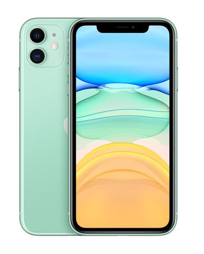 "Apple iPhone 11 15.5 cm (6.1"") 128 GB Dual SIM 4G Green iOS 14"