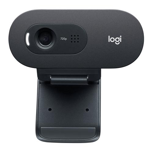 Logitech C505e webcam 1280 x 720 pixels USB Black