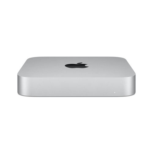 Apple Mac mini M M1 8 GB DDR4-SDRAM 256 GB SSD Silver Mini PC macOS Big Sur