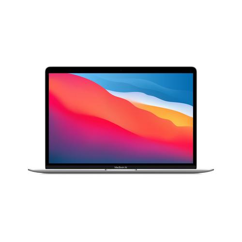 "Apple MacBook Air Notebook Silver 33.8 cm (13.3"") 2560 x 1600 pixels Apple M 8 GB 512 GB SSD Wi-Fi 6 (802.11ax) macOS Big Sur"