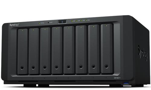Synology DiskStation DS1821+ NAS/storage server Tower Ethernet LAN Black V1500B