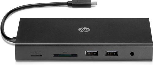 HP 1C1Y5AA Bedraad USB 3.2 Gen 1 (3.1 Gen 1) Type-C Zwart