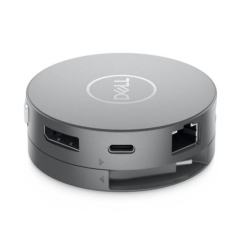 DELL DA310 Bedraad USB 3.2 Gen 2 (3.1 Gen 2) Type-C Zilver