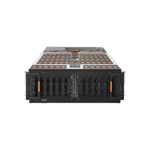 Western Digital Ultrastarrv60+8-60 Foundation 480TB512ED Storage server Rack (4U) Ethernet LAN Grey, Black