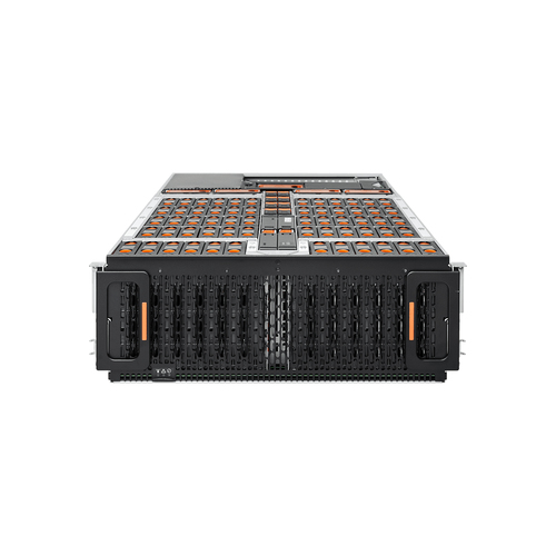 Western Digital Ultrastarrv60+8-60 Foundation 720TB4KN Storage server Rack (4U) Ethernet LAN Grey, Black