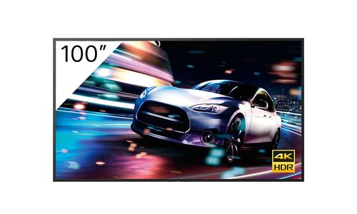 "Sony FW-100BZ40J signage display Digital signage flat panel 2.54 m (100"") VA 4K Ultra HD Black Android"
