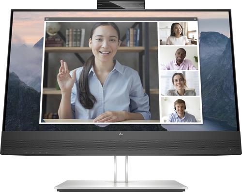 """HP E24mv G4 60,5 cm (23.8"""") 1920 x 1080 Pixels Full HD Zwart, Zilver"""