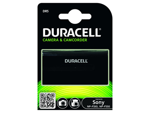 Duracell Camcorder Battery 7.2v 2200mAh Lithium-Ion (Li-Ion) 2200mAh 7.2V rechargeable battery