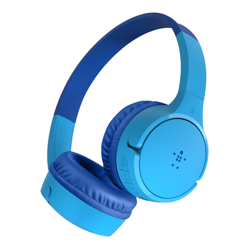 Belkin SOUNDFORM Mini Headset Hoofdband 3,5mm-connector Micro-USB Bluetooth Blauw