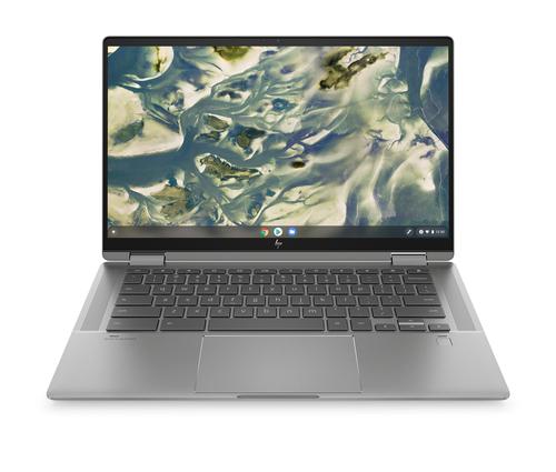 "HP Chromebook x360 14c-cc0001nd DDR4-SDRAM 35,6 cm (14"") 1920 x 1080 Pixels Touchscreen Intel® 11de generatie Core™ i3 8 GB 256"
