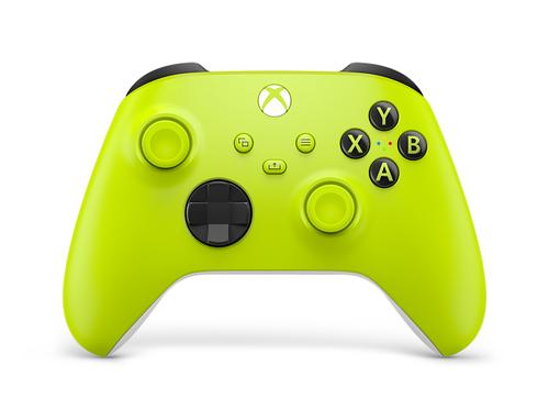 Microsoft Xbox Wireless Controller Electric Volt Geel Bluetooth Joystick Analoog/digitaal Xbox, Xbox One, Xbox Series S