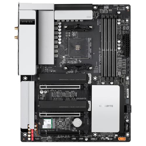 Gigabyte B550 VISION D-P (rev. 1.0) AMD B550 Socket AM4 ATX