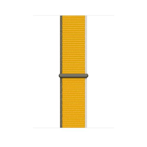 Apple MJG03ZM/A smartwatch accessory Band Yellow Nylon