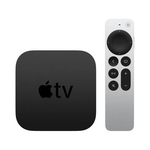 Apple TV 4K Black, Silver 4K Ultra HD 32 GB Wi-Fi Ethernet LAN