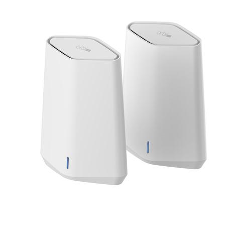 Netgear Orbi Pro WiFi 6 Mini AX1800 Mesh System Pack of 2 (SXK30) draadloze router Gigabit Ethernet Dual-band (2.4 GHz / 5 GHz)