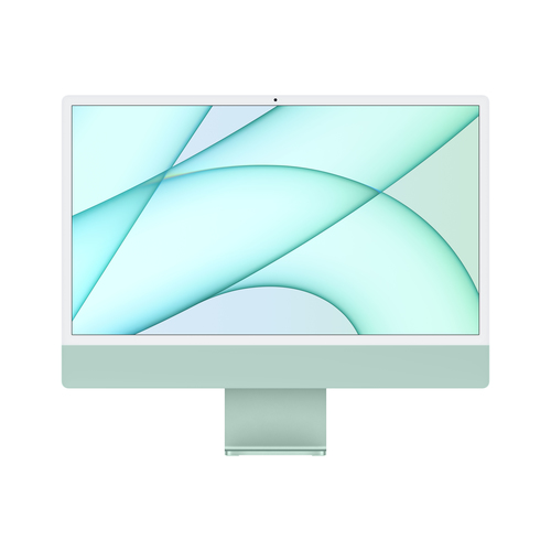 "Apple iMac 61 cm (24"") 4480 x 2520 Pixels Apple M 8 GB 256 GB SSD Alles-in-één-pc macOS Big Sur Wi-Fi 6 (802.11ax) Groen"