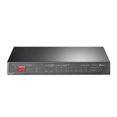 TP-LINK TL-SG1210MP network switch Unmanaged Gigabit Ethernet (10/100/1000) Power over Ethernet (PoE) Black