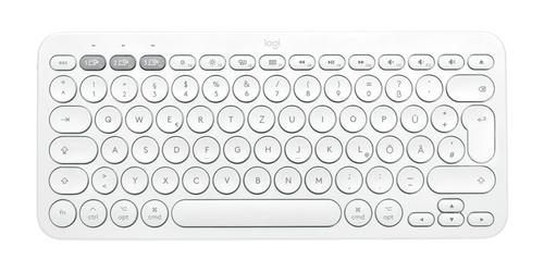 Logitech K380 for mac toetsenbord Bluetooth AZERTY Frans Wit