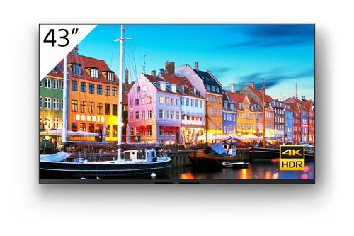 "Sony FW-43BZ35J beeldkrant Digitale signage flatscreen 109,2 cm (43"") VA 4K Ultra HD Zwart Type processor Android 10"