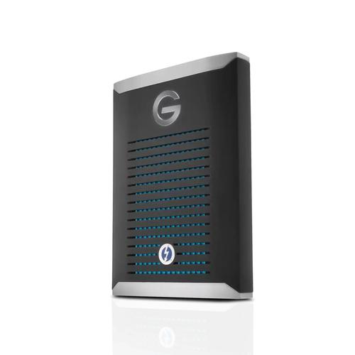 SanDisk G-DRIVE PRO 2000 GB Zwart, Roestvrijstaal