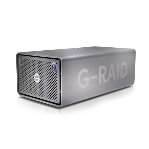 SanDisk G-RAID 2 disk array 24 TB Desktop Roestvrijstaal