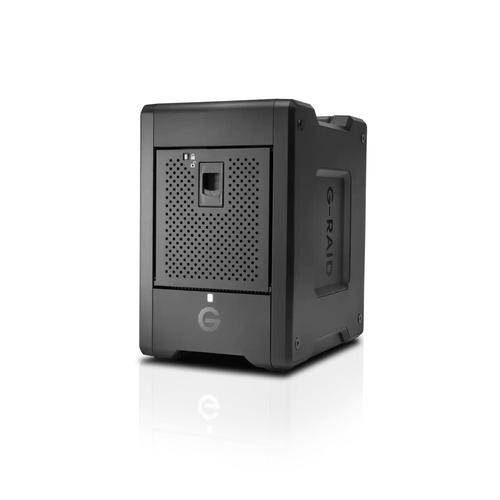 SanDisk G-RAID SHUTTLE 4 disk array 24 TB Desktop Zwart