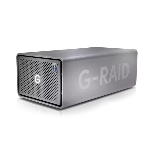 SanDisk G-RAID 2 disk array 8 TB Desktop Roestvrijstaal