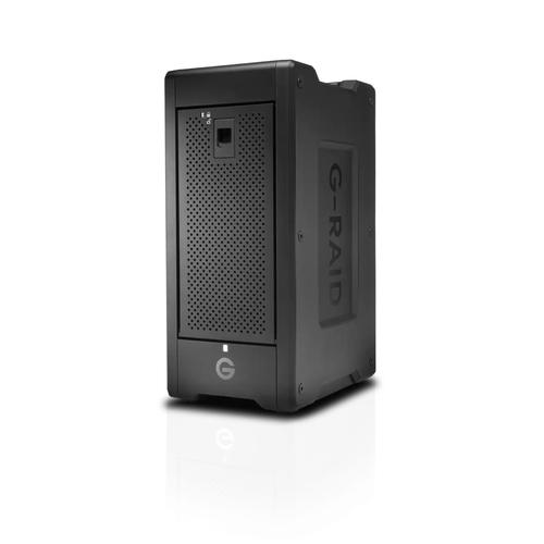 SanDisk G-RAID SHUTTLE 8 disk array 96 TB Desktop Zwart