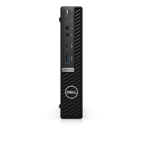 DELL OptiPlex 7090 DDR4-SDRAM i5-10500T MFF Intel® 10de generatie Core™ i5 8 GB 256 GB SSD Windows 10 Pro Mini PC Zwart