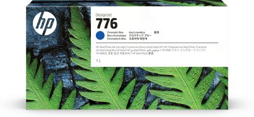 HP 776 1 liter chromatisch blauwe inktcartridge