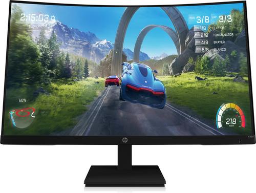 """HP X32c 80 cm (31.5"""") 1920 x 1080 Pixels Full HD LCD Zwart"""