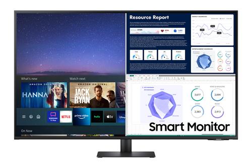 "Samsung LS43AM700UU 109,2 cm (43"") 3840 x 2160 Pixels 4K Ultra HD LED Zwart"