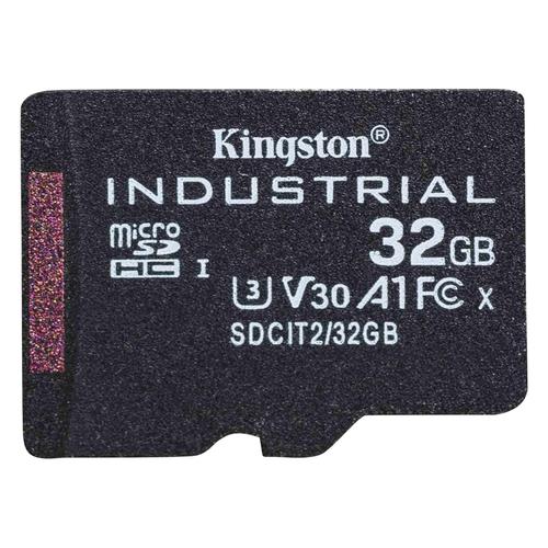 Kingston Technology Industrial flashgeheugen 32 GB MicroSDHC UHS-I Klasse 10