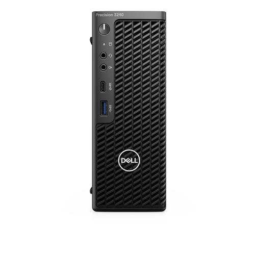 DELL Precision 3240 DDR4-SDRAM i7-10700 CFF Intel® 10de generatie Core™ i7 16 GB 1000 GB SSD Windows 10 Pro Workstation Zwart