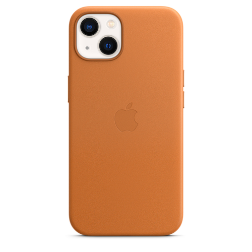 """Apple MM103ZM/A mobiele telefoon behuizingen 15,5 cm (6.1"""") Hoes Bruin, Goud"""