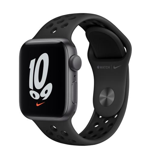 Apple Watch SE Nike 40 mm OLED Grijs GPS