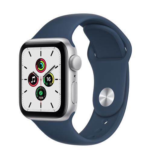 Apple Watch SE 40 mm OLED Zilver GPS