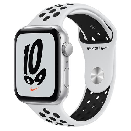 Apple Watch SE Nike 44 mm OLED Zilver GPS