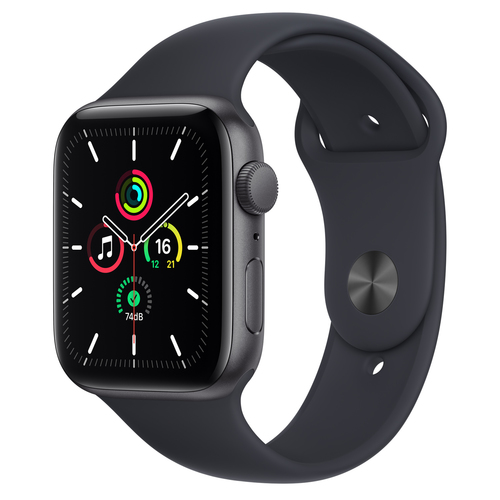 Apple Watch SE 44 mm OLED Grijs GPS