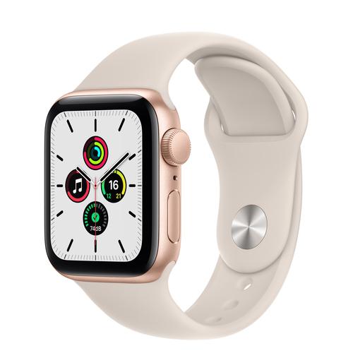 Apple Watch SE 40 mm OLED Goud GPS