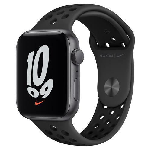 Apple Watch SE Nike 44 mm OLED Grijs GPS